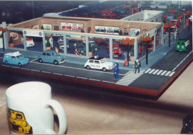 Diorama Garage 1 18 1 18 Jon S Autoyard Diorama Overall